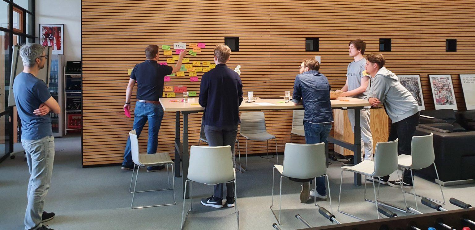 Workshop: Brainstorming - Zettel kleben